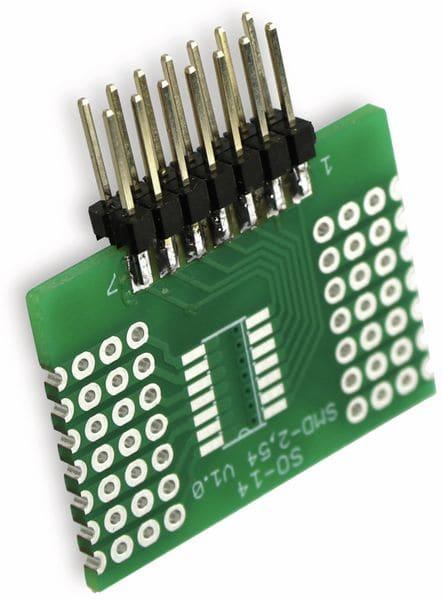 Adapterplatine SO-14, 4-fach, RM2,54 - Produktbild 10