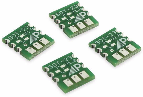 Adapterplatine SOT23, 4-fach, RM2,54 - Produktbild 2
