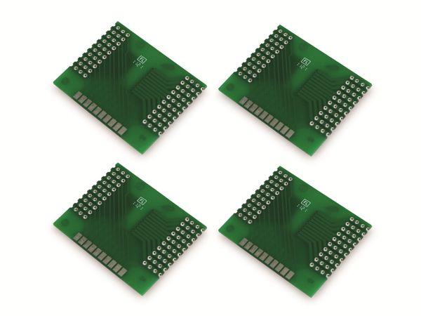 Adapterplatine SO-20W/X, 4-fach, RM2,54 - Produktbild 5