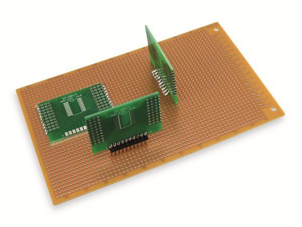 Adapterplatine SO-20W/X, 4-fach, RM2,54 - Produktbild 8