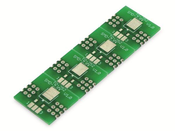 Adapterplatine TO-252, 4-fach, RM2,54 - Produktbild 2
