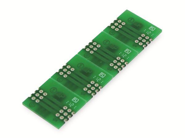 Adapterplatine TO-252, 4-fach, RM2,54 - Produktbild 3