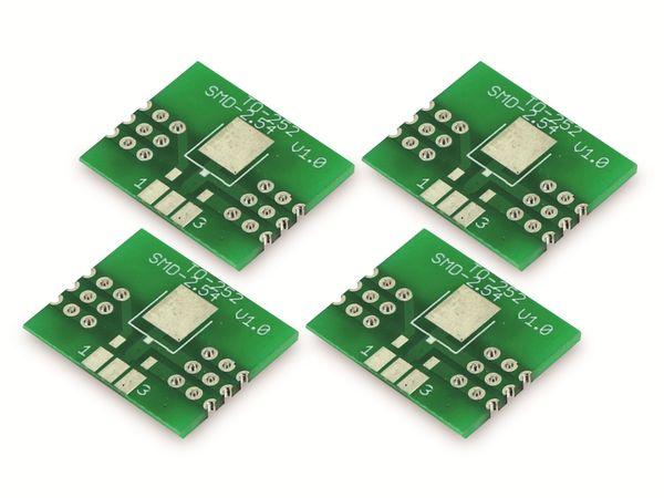 Adapterplatine TO-252, 4-fach, RM2,54 - Produktbild 4