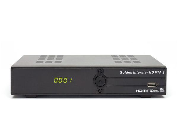 DVB-S HDTV Receiver GOLDEN INTERSTAR HD FTA S, B-Ware - Produktbild 2