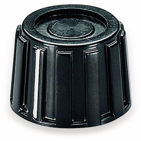 Drehknopf OKW A1319260, mit seitl. Schraubbefestigung für 6 mm Achse