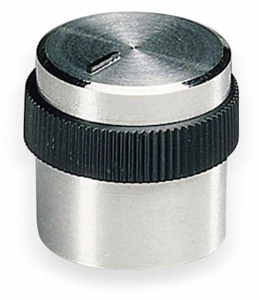 Drehknopf OKW A1416469, mit seitl. Schraubbefestigung für 4 mm Achse