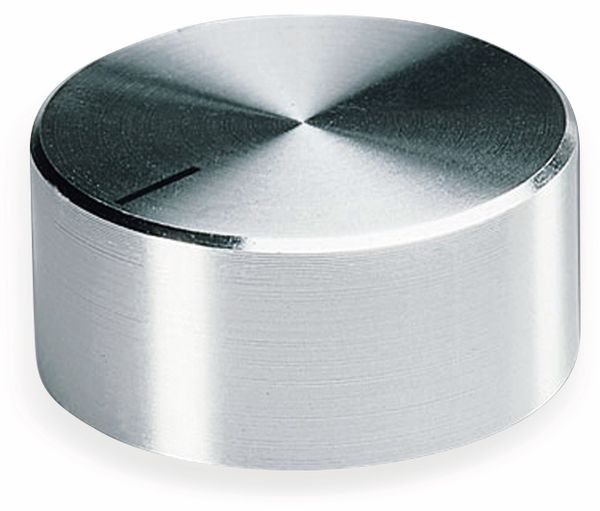 Drehknopf OKW A1418461, mit seitl. Schraubbefestigung für 6 mm Achse