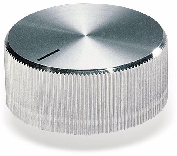 Drehknopf OKW A1432261, mit seitl. Schraubbefestigung für 6 mm Achse