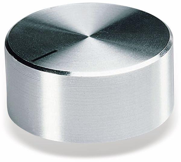 Drehknopf OKW A1438461, mit seitl. Schraubbefestigung für 6 mm Achse