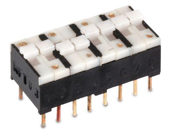 DIP-Schalter RFT KSD34, 4x2-polig
