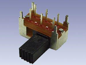 Schiebeschalter SEC1/2, 90°, 0,5 A/50 V-