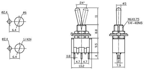 Kipptaster MTS-123-A1 - Produktbild 2