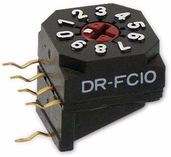 Miniatur-Drehcodierschalter NKK DR-FC10