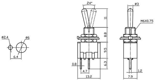 Kippschalter MTS-101-A2 - Produktbild 2