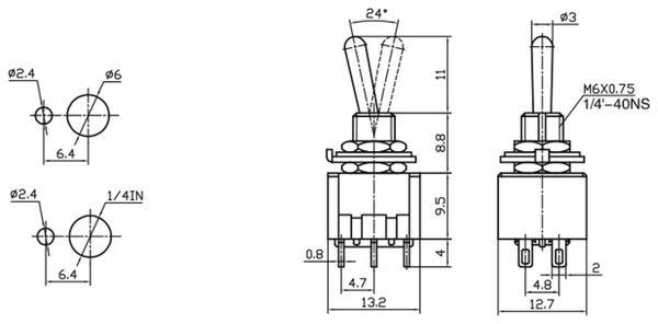 Kippschalter/-taster MTS-213-A1 - Produktbild 2