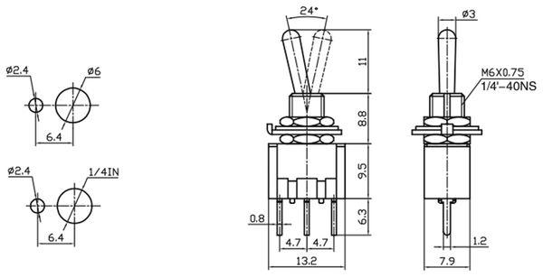 Kipptaster MTS-112-A2 - Produktbild 2