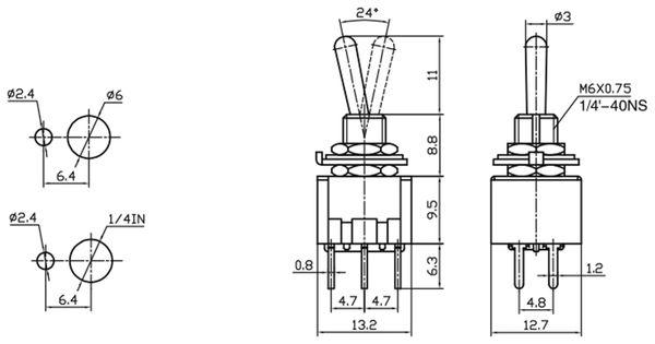 Kipptaster MTS-212-A2 - Produktbild 2