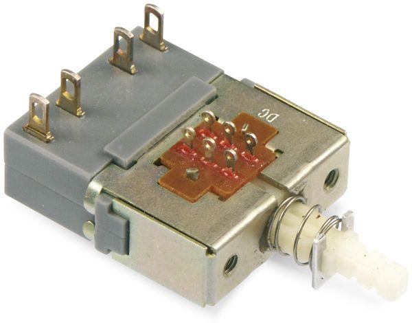 Netzschalter, ALPS, SDK1P-J, 250 V/6 A