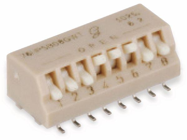 DIP-Schalter GRAYHILL 76HPSB08GWT