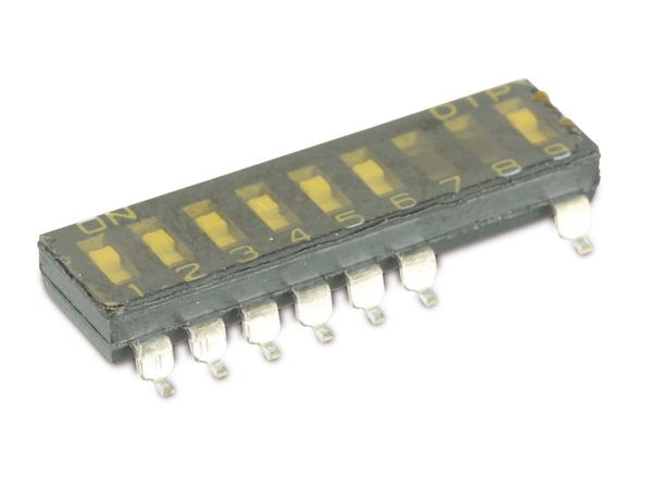 DIP-Schalter DIPTRONICS DMR-09/7.8PT-T/R