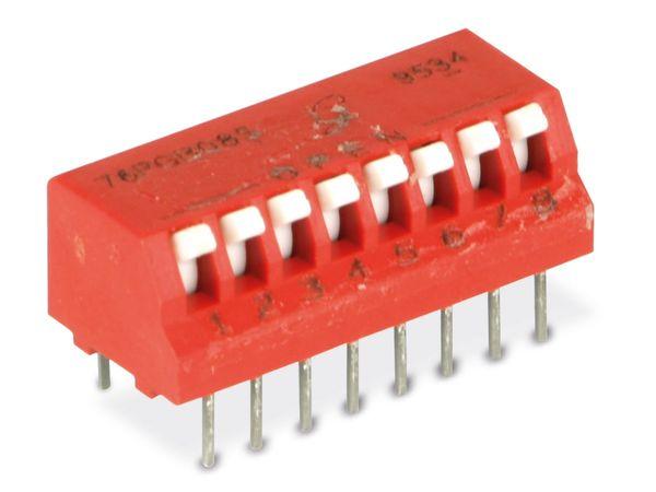 DIP-Schalter GRAYHILL 76PGB08S