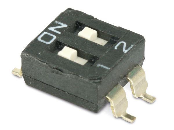DIP-Schalter, SMD, 10 Stück