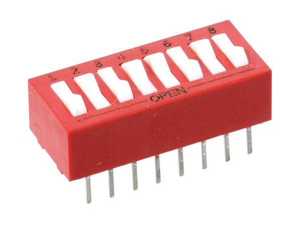 DIP-Schalter GRAYHILL 76SB08S