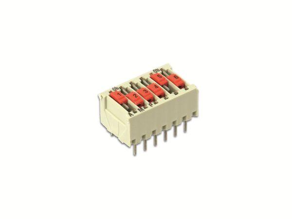 DIP-Schalter AMP 0-0161390-6