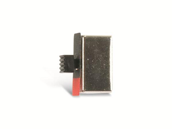 Schiebeschalter mit Drucktaster SEC SLP-23-492T - Produktbild 3