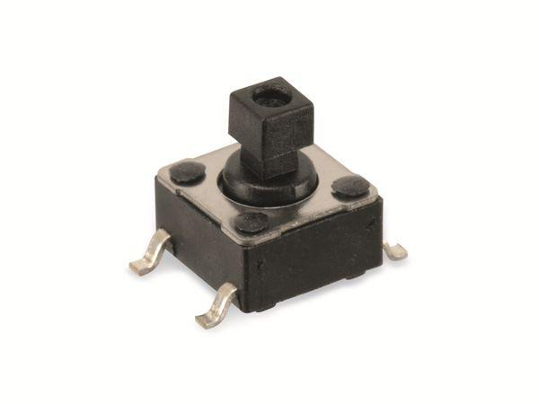 SMD Eingabetaster SALECOM ELTSM-644K, 6,2x6,2 mm