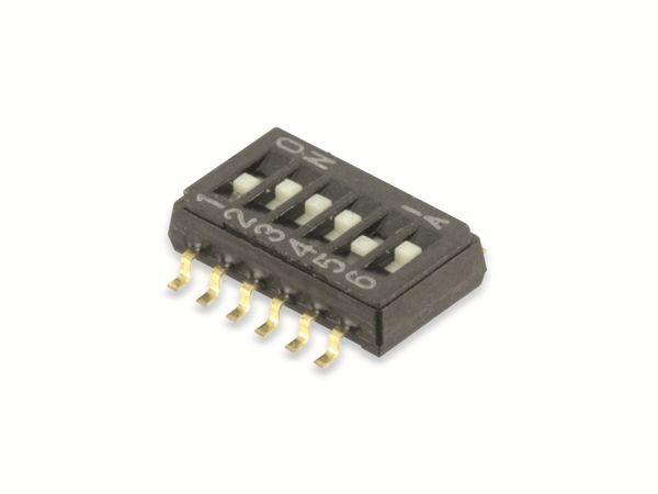 SMD DIP-Schalter COPAL CHS-06TB