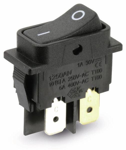 Einbau-Wippenschalter ARCOLECTRIC C1250AN, 2-polig - Produktbild 1