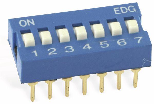DIP-Schalter ECE EDG107S, 7-polig - Produktbild 1