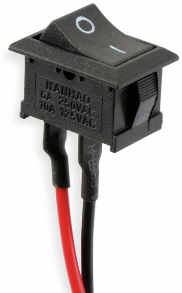 Einbau-Wippenschalter mit 10 cm Kabel, EIN/AUS - Produktbild 1