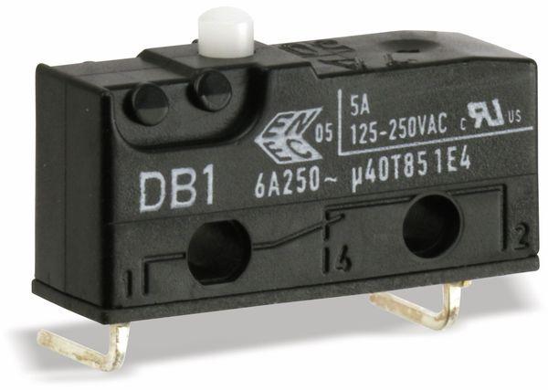 Subminiatur-Schnappschalter CHERRY DB1F-DGAB