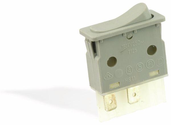 Wippenschalter 331128, 16(4) A/250 V~, grau