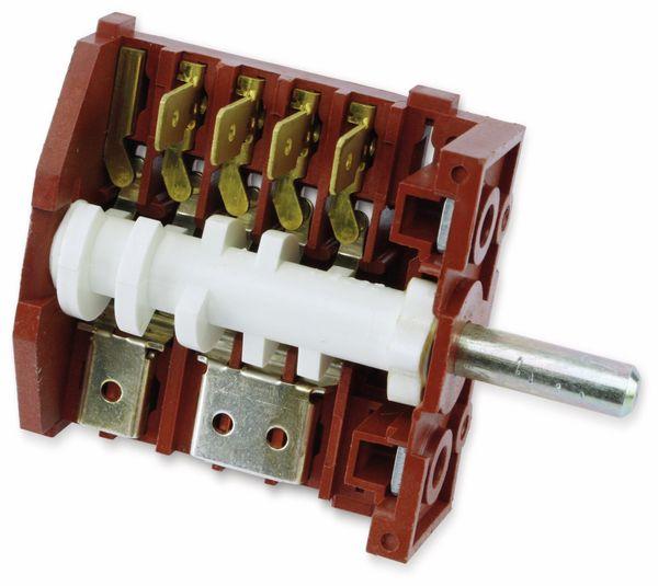 Einbau-Drehschalter KZ18 Typ 6CH, 2-polig - Produktbild 1