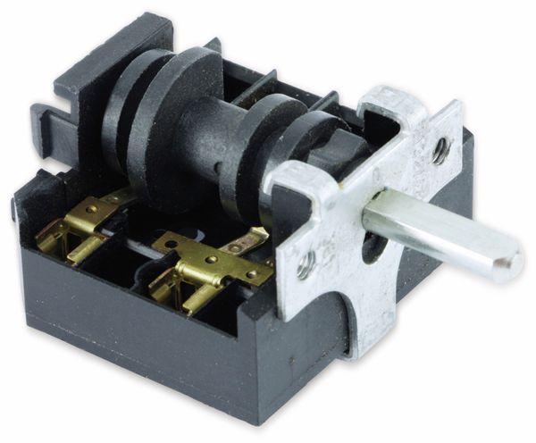 Einbau-Drehschalter B&S AB1, 2-polig - Produktbild 1