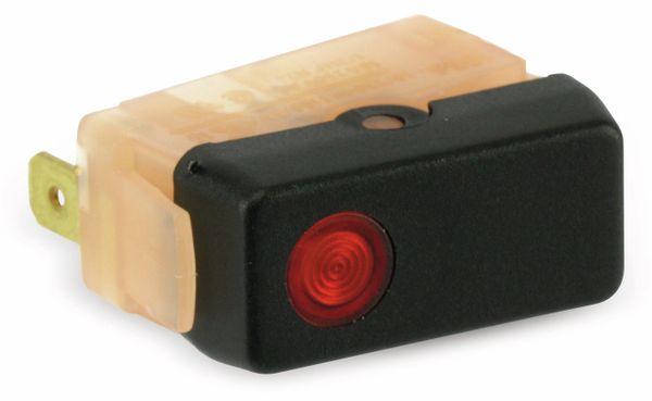 Kontroll-Wippenschalter MARQUARDT 1656.1702, rot - Produktbild 1