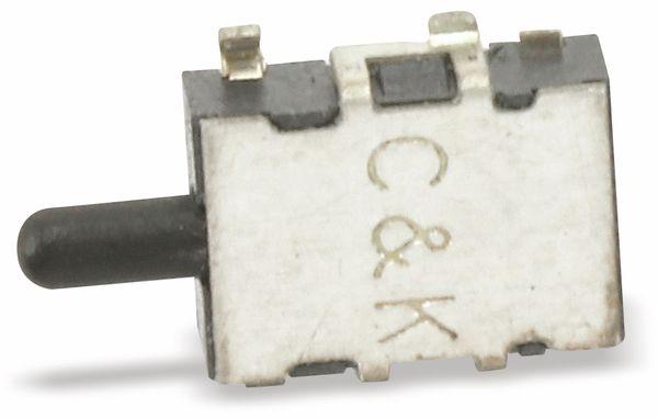 SMD Drucktaster C&K SDS001, Schließer, 0,1 A/12 V- - Produktbild 1