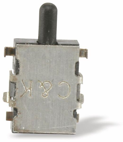 SMD Drucktaster C&K SDS001, Schließer, 0,1 A/12 V- - Produktbild 2