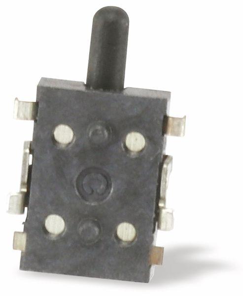 SMD Drucktaster C&K SDS001, Schließer, 0,1 A/12 V- - Produktbild 3