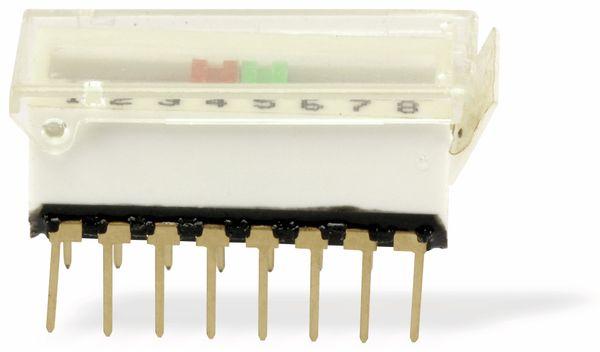 DIP-Siebeschalter ERG DS16D VAR22, 8-polig - Produktbild 1