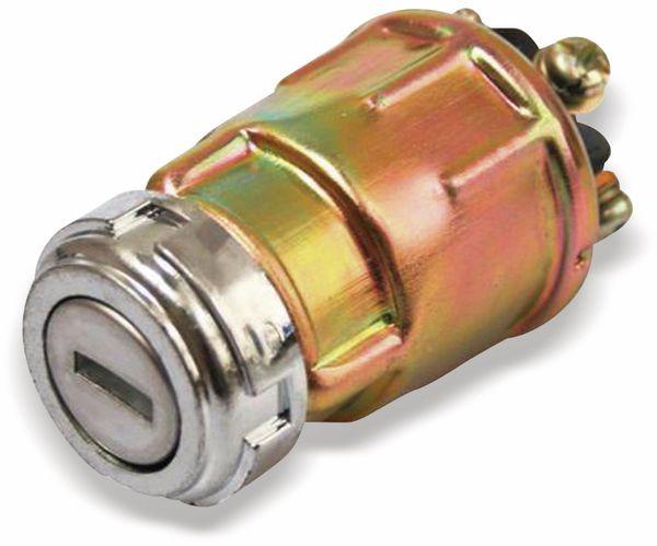 Zündschloss-Schlüsselschalter mit 2 Schlüsseln, 4 Positionen - Produktbild 1