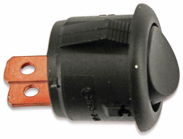 Einbau-Wippenschalter, rund, SCI, R13-270, 1-pol. - Produktbild 1