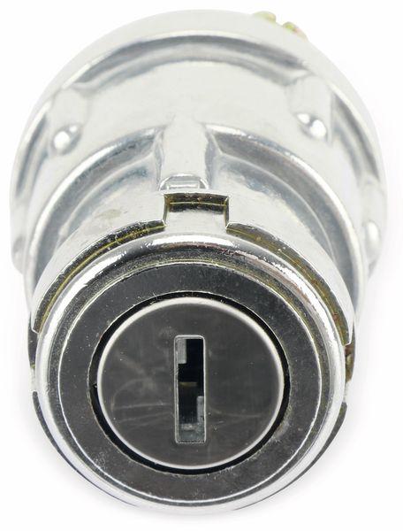 Zündschloss-Schlüsselschalter mit 2 Schlüsseln, 3 Postionen - Produktbild 4