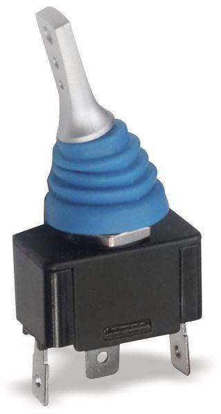 Spritzwassergeschützter KFZ-Kippschalter SCI R13-416, 1xUM