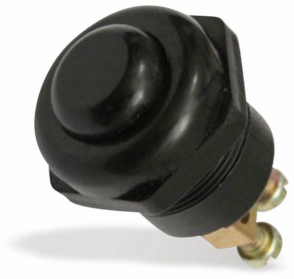 KFZ Leistungs-Drucktaster, 25 A, schwarz