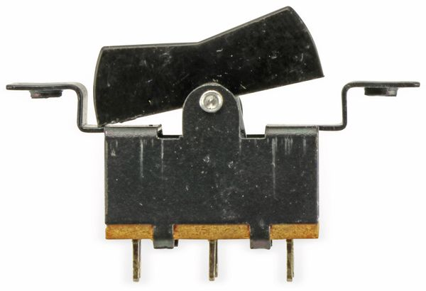 Einbau-Wippenschalter, 2xUM, schwarz - Produktbild 2