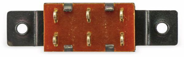 Einbau-Wippenschalter, 2xUM, schwarz - Produktbild 3